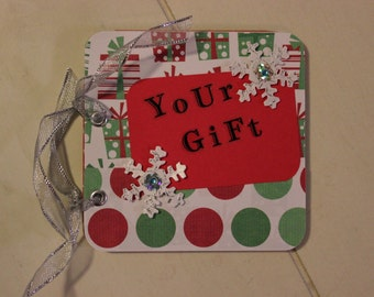 Christmas Gift Card Holder, WK127