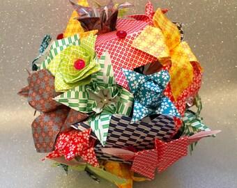 Origami Bridal Paper Bouquet