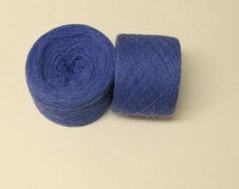 LAPIS HEATHER 100%  Merino Wool 2830 yards recycled yarn