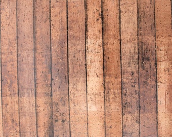 Natural Cork Fabric - Boardwalk