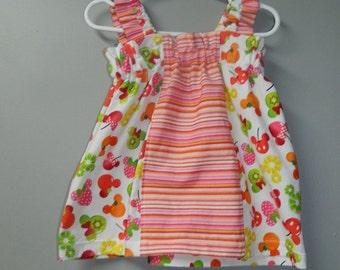 6-12 m fruity bella dress