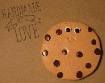 Cookie Magnet, Cookie Refrigerator Magnet, Chocolate Chip Cookie Magnet, Large Cookie Magnet, Chocolate Chip Cookie Frig Magnet, Cookie