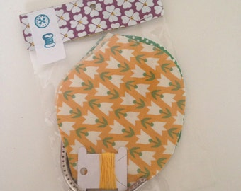 SALE diy kit to make your own little coin purse