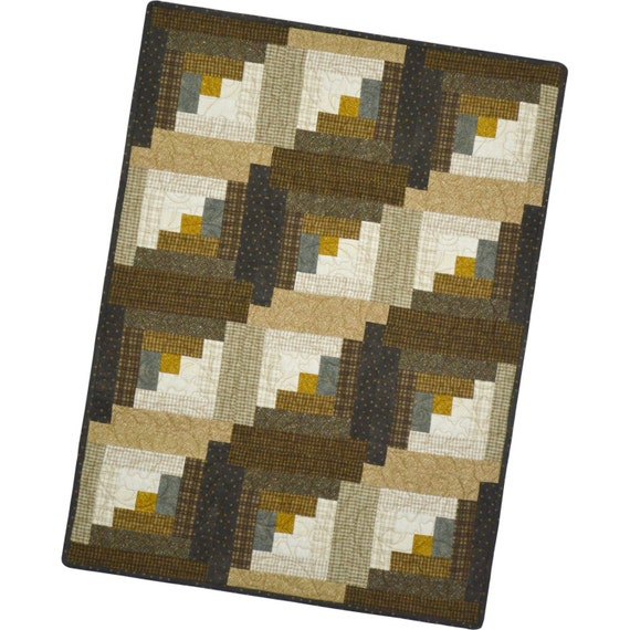 Maywood Woolies Colors Hazelnut Precut Flannel Fabric Quilt