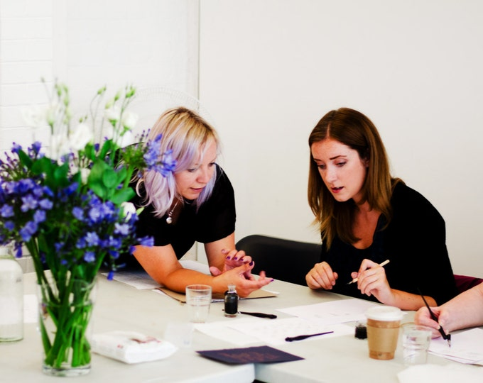 Featured listing image: 6TH OCTOBER 2017 Modern calligraphy workshop in Manchester