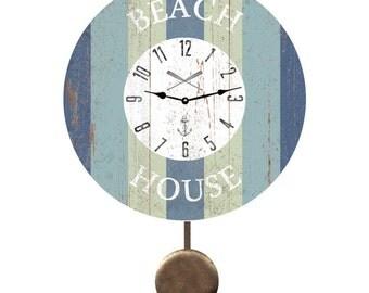 Beach House Pendulum Clock