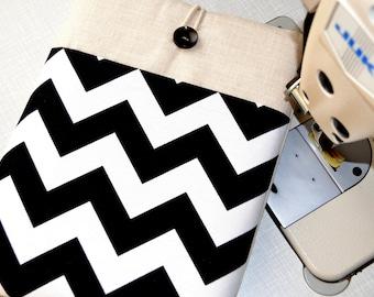 Black White Chevron-ipad mini case, Kindle Fire case, Paperwhite cover, Kindle Cover,  8 inch Custom Tablet case ipad Mini 4