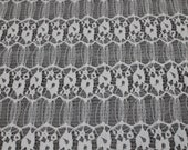 Off White Origami Pattern Lace Fabric for Wedding Lace Bridal Elegant Dress Lace by the yard- 1 Yard Style 169