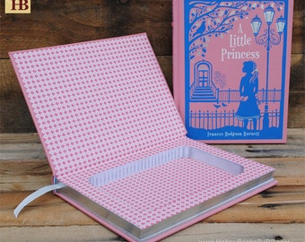 Hollow Book Safe - A Little Princess - Leather Bound
