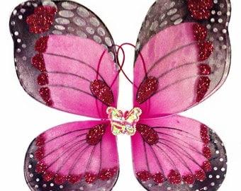 Wings - Dark Pink Butterfly
