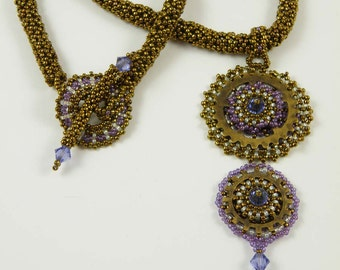 Beading Tutorial - All Geared Up Pendant