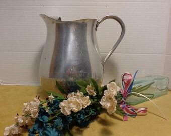 "Toroware by Leyes Vintage 8"" Aluminum Pitcher"