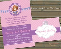 Princess Birthday Invitations and/or Personalized Princess Stationery