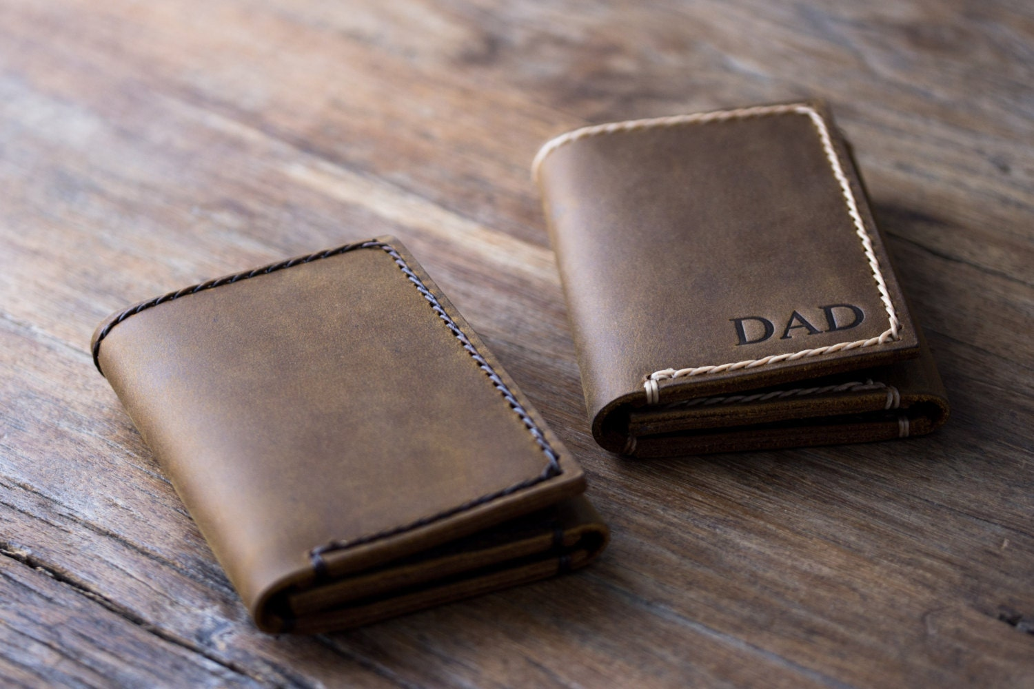 Trifold Personalized Wallet Men S Leather Trifold
