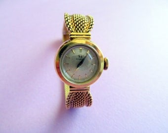 Omega Gold Watch.Lady's Gold Watch.1958.