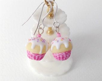 Fairy cake earrings