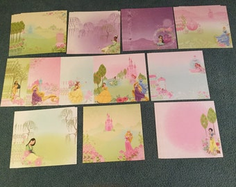 DISNEY PRINCESS 12x12 Double Sided CARDSTOCK 44 Sheets