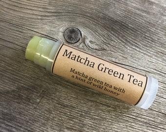Matcha Green Tea Natural Lip Balm