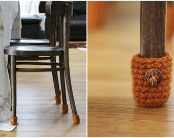 Chair socks, Floor protector, table legs cover, chair leg socks, table socks, cozy legwarmer, home decor, Eco-friendly gift