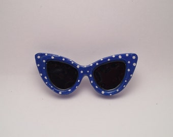 Cat Eye Glasses Broach / Cat Eye Glasses / Glasses / Retro Glasses /Vintage Glasses /
