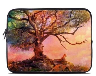 Laptop Sleeve Bag Case - Fox Sunset by Aimee Stewart - Neoprene Padded - Fits MacBooks + More