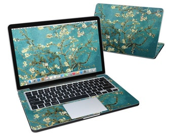 MacBook Skin - Blossoming Almond Tree by Vincent van Gogh - Vinyl Decal Sticker Cover - Fits Pro, Air, 11in, 12in, 13in, 15in, 17in
