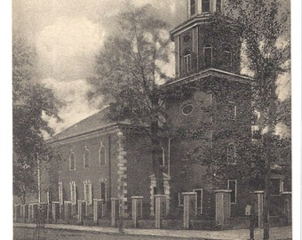 Vintage Postcard - Christ Church - Alexandria Virginia - Built 1767 - The Albertype Co Publisher - Brooklyn New York