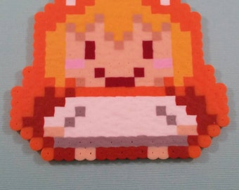 Original Design Himouto Umaru Chan anime perler bead magnet or keychain included backpack or purse charm - himouto! Umaru-chan UMR Handmade