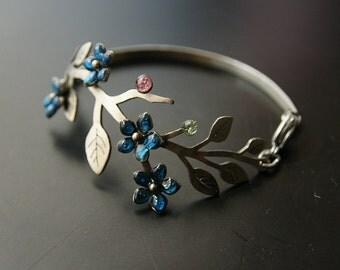 Bracelet forget-me-not