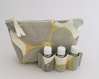 Essential Oil Bag 14 Optic Blossom Linen