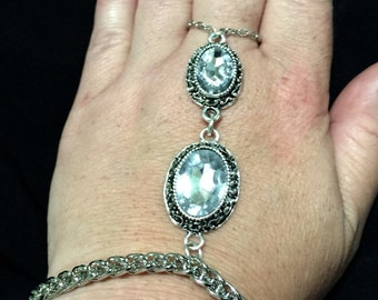 Bohemian Rhinestone Hand Chain ** FREE Shipping Within U.S.**
