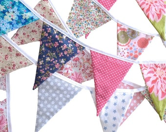 Fabric Bunting - Triangle Bunting Banner
