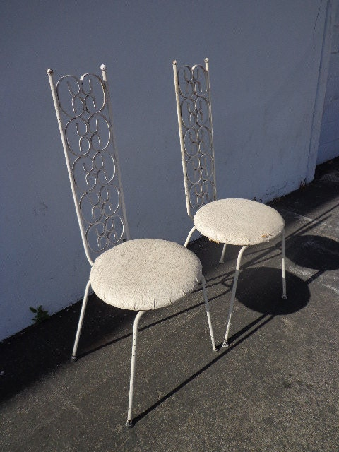 Arthur Umanoff Grenada Chairs Pair Mid Century Modern