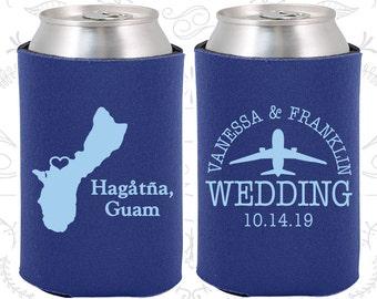 Guam Wedding Gifts, Coolies, Destination Wedding Favors, Guam Favors, Hagatna Save the Date (179)