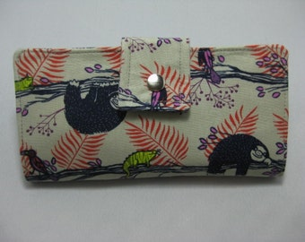 Womens Wallet, Handmade Ladies Wallet,