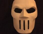 Unweathered TMNT Casey Jones Mask with Elastic Straps