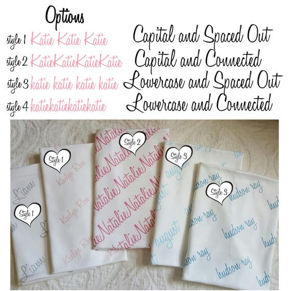 Personalized Swaddle Blanket 100 Organic Cotton Baby