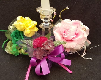 Carnation, Roses, Artificial Flowers, Wedding, Mothers' Day, Quinceanera Special Day  Corsages