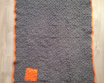 Baby blanket, crochet.