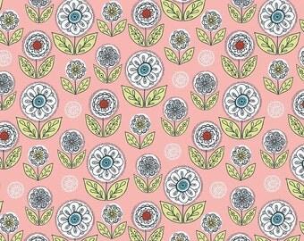 Riley Blake Dutch Treat by Betz White C5283 Garden Pink - Quilts - Quilting - Dresses - Crafts