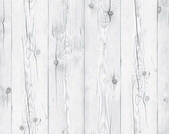 Sliced Veneer Wood Pattern Adhesive Sheet 1m - vintage white wood #344 * self-adhesive wallpaper, peel-stick, DIY interior, decor sticker