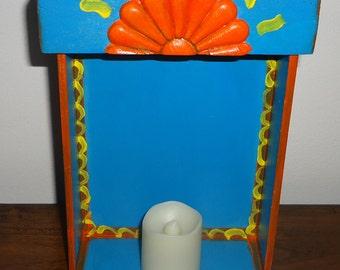 Colorful Nicho, Retablo or Shrine