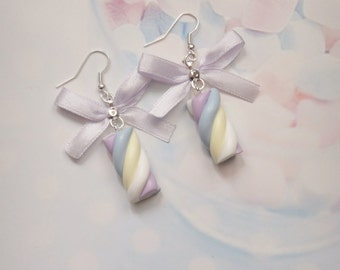 earrings marshmallows
