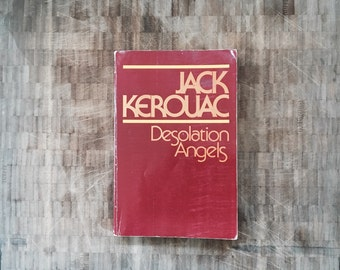 jack kerouac poster, on the road, beat generation, beat literature, desolation angels, vintage books rare, coffee table books, fiction, libr