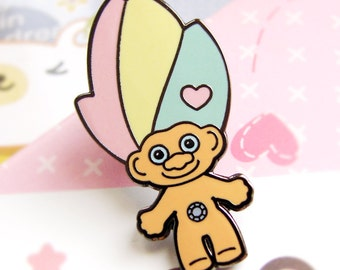 Kawaii Enamel pin Troll