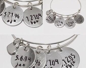 Name jewelry Custom name jewelry personalized Mother's Jewelry Mother's bracelet personalized mom jewelry personalized bracelet