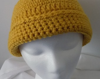30---Autumn Maize Beanie Hat