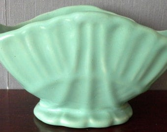 mint green planter by covencroft