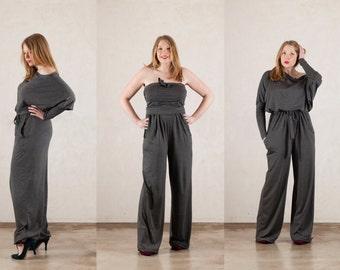 Convertible batwing jumpsuit request size