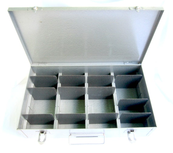 Brumberger Slide Box Film Storage Box Metal Box With